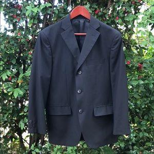 MARRIOT GALLES Black Slim Fit Suit Jacket 41 Short